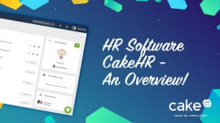 Founded in 2012, cakehr is fast-growing award-winning hr software company that streamlines attendance and performance management for customers worldwide. unl...