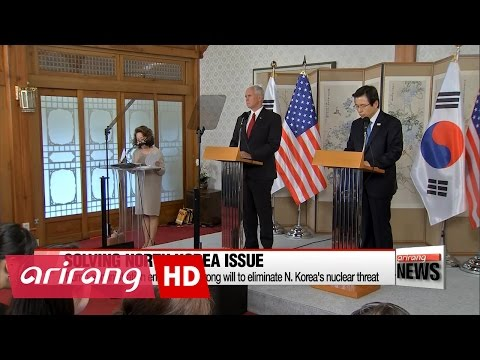 Thumbnail: U.S. Vice President warns N. Korea not to test Trump's resolve