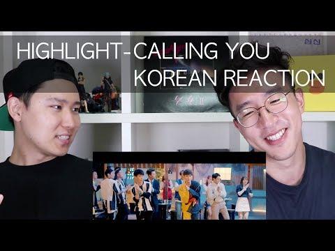 Highlight - CALLING YOU M/V [Korean Reaction]