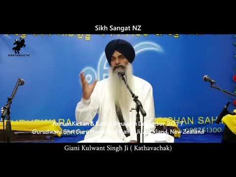 Giani Kulwant Singh Ji Katha At Gurudwara Harkrishan Sahib ji New Lynn, New zealand Sikh Sangt NZ