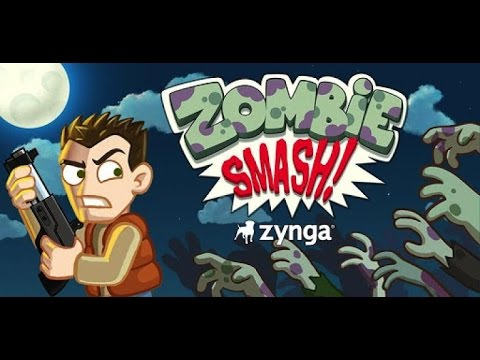 ZombieSmash- By Zynga Inc - iPhone, iPad  iPod touch. optimized for iPhone 5.