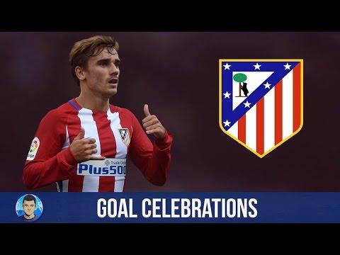 Antoine Griezmann ● Goal Celebrations ● Atletico Madrid 2016/17