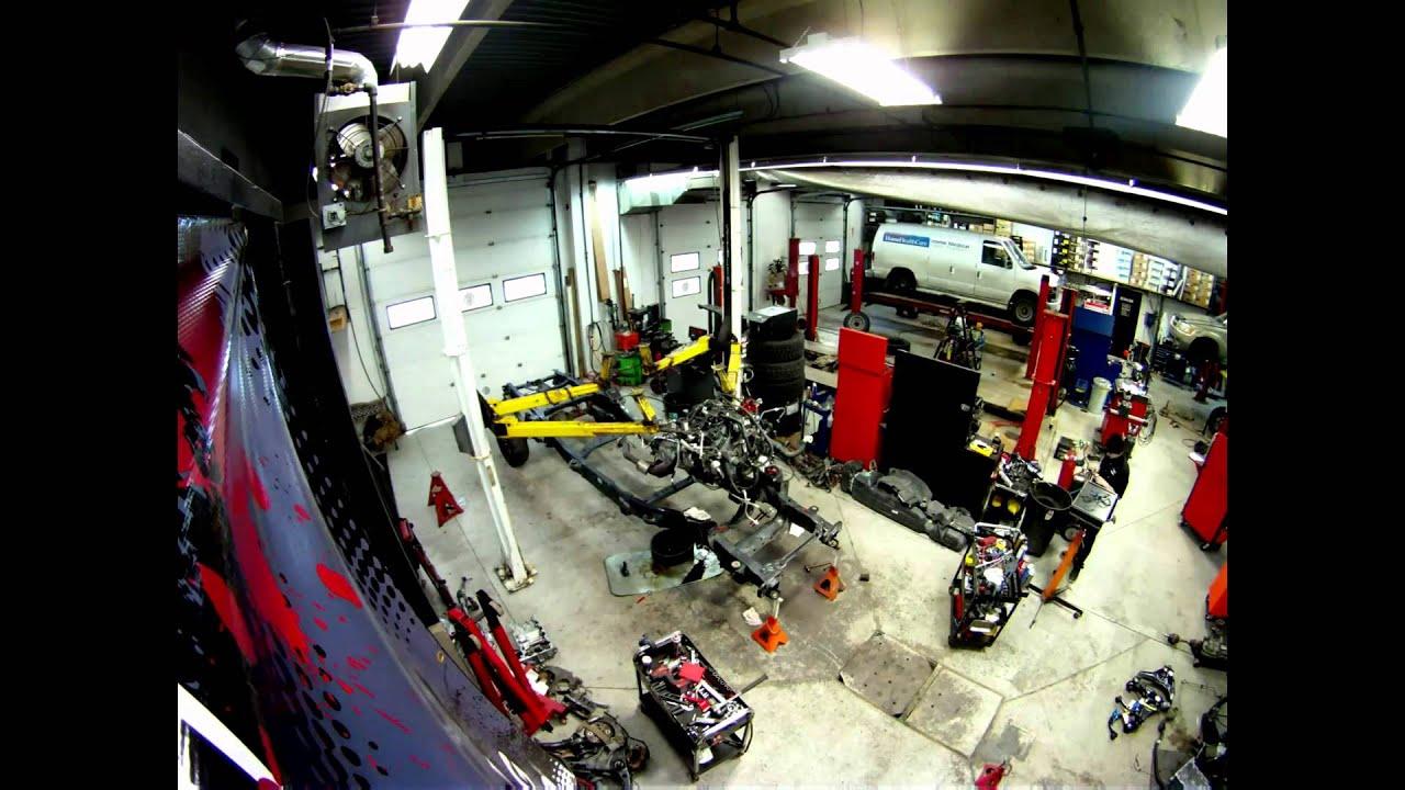 the car salon ford f150 frame swap [ 1280 x 720 Pixel ]