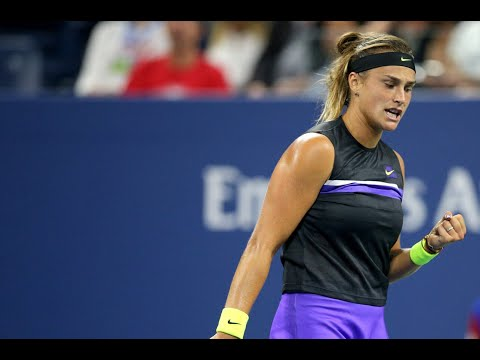 Aryna Sabalenka Vs. Victoria Azarenka   US Open 2019 R1 Highlights