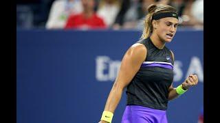 Aryna Sabalenka vs. Victoria Azarenka | US Open 2019 R1 Highlights