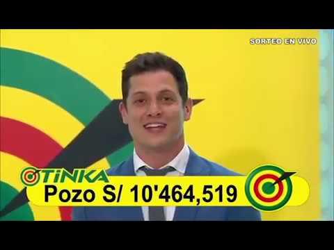 Sorteo Tinka - Domingo 02 de diciembre de 2018