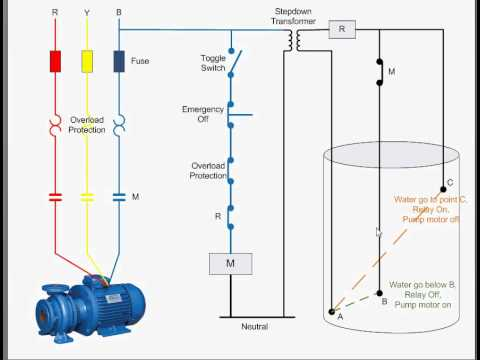 hqdefault water level controller youtube ellico water level controller wiring diagram at fashall.co