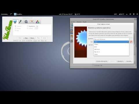 Instalación de Debian GNU/HURD Parte I Configuracion de virtualbox