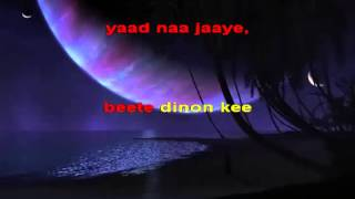 Video Karaokes of lovely old Hindi Classics from Hyderabad Karaoke Club