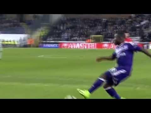 Frank Acheampong Goal   Anderlecht vs Zenit Petersburg  1 0  Europa League 2017