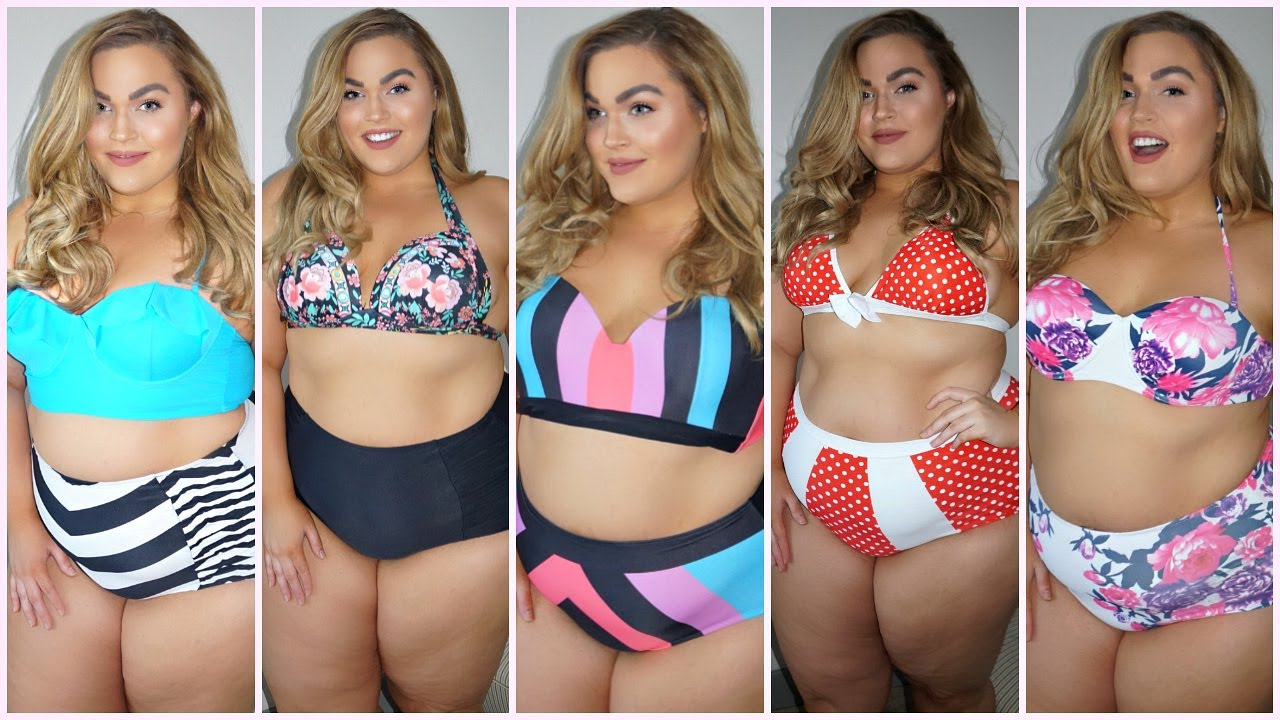 Trying On CHEAP Plus-Size Bikinis Under $20 | Amazon