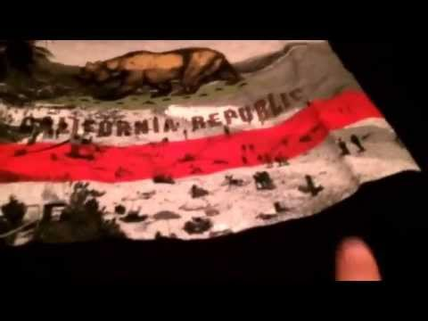 California republic and Volcom T shirts review unpackaging Pacsun