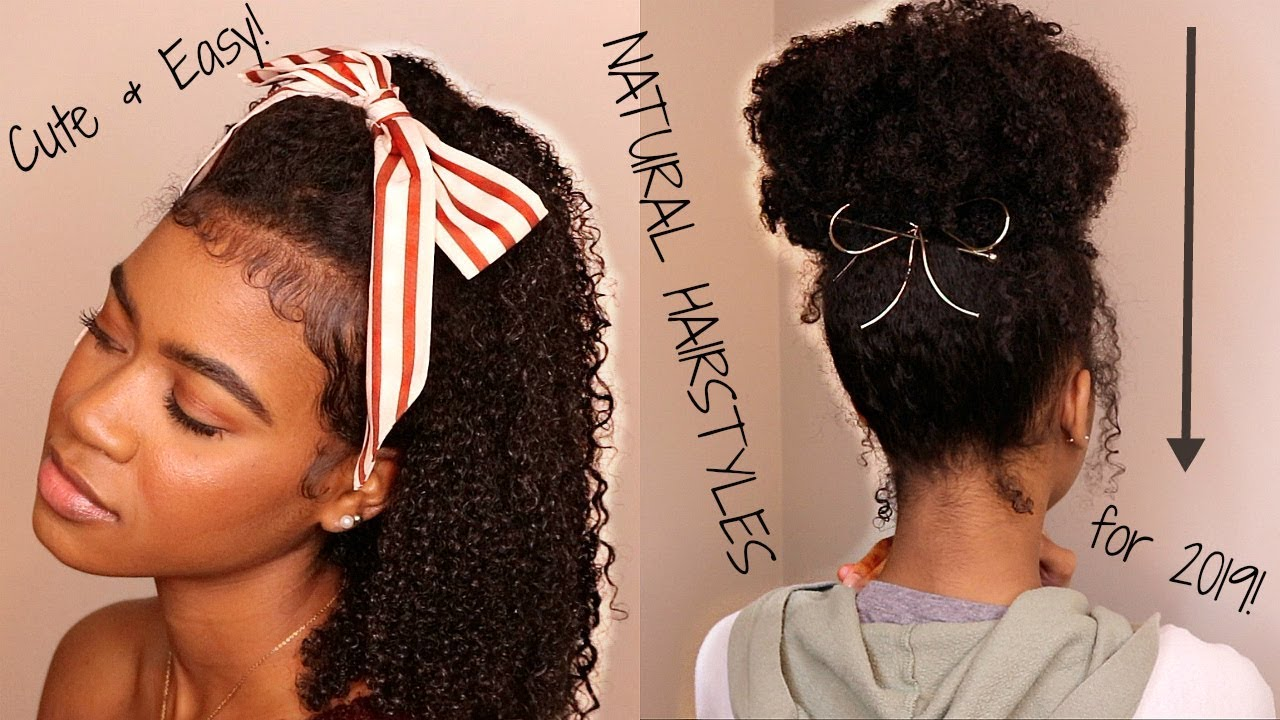 10 EASY, QUICK & SUPER CUTE Hairstyles for the NEW YEAR ...