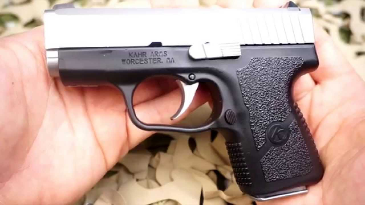 Kahr CM9 9MM Compact Concealed Carry Pistol Review - New World Ordnance