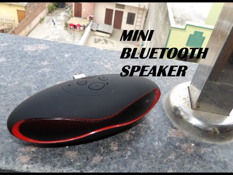Mini Bluetooth Speaker Unboxing and Review