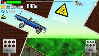 Hill Climb Racing - Daily Challenges on Lowrider Factory & Nuclear Plant