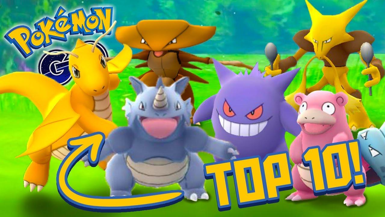 TOP 10 POKEMON GO CATCHES! - YouTube