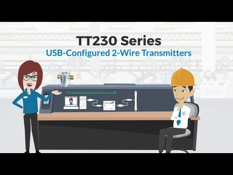 Acromag TT230 Series Loop Power, 4-20mA Output, Two-Wire Transmitters