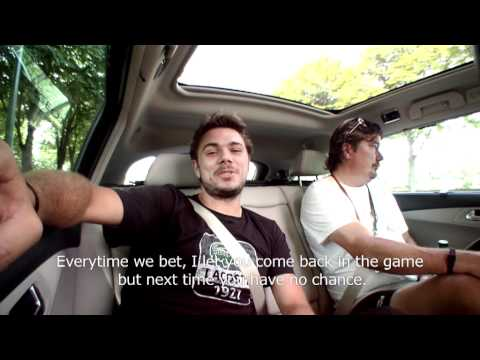 Stanislas WAWRINKA challenges Monfils (2011) - Road to Roland-Garros