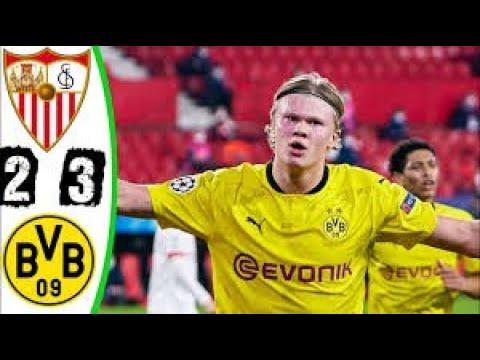 Sevilla Vs Dortmund 2-3 Haaland Double Extended , All Goals 2021