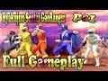 Hyakujuu Sentai GaoRanger ps1 full game | Sieu nhan game play chơi game 5 anh em siêu nhân Gao