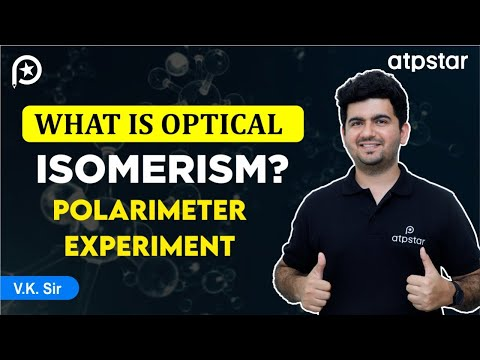 What is optical isomerism? ( polarimeter experiment)-JEE Advanced || Mains (Hinglish)