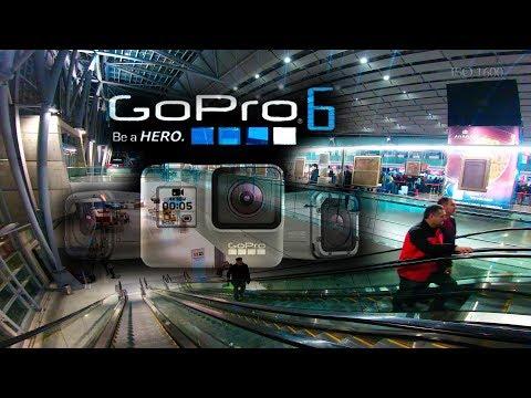 GoPro HERO6: Low light test in motion: 400 - 1600 ISO / 4K