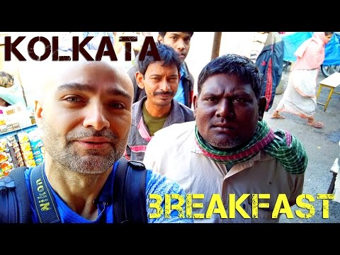 Breakfast in Kolkata. What to eat in India