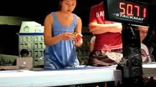 Stephanie Chow - 4x4 (1:52.61) - US Nationals 2008