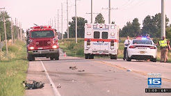 One person dead, another critical after a motorcycle crash