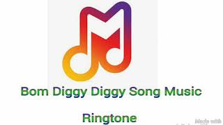 Bom Diggy Diggy Ringtone || Music Only || Phone Ringtone || New Ringtone