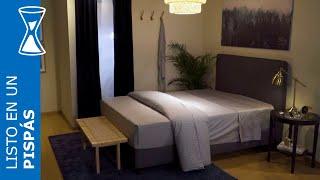 Cómo hacer la cama perfecta en un pispás - IKEA