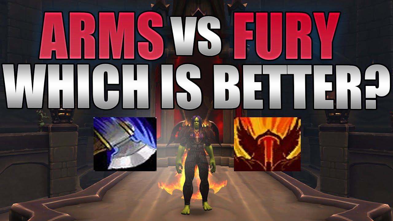 Shadowlands 9 0 Arms Vs Fury Warrior Guide Which Spec Is Better Youtube