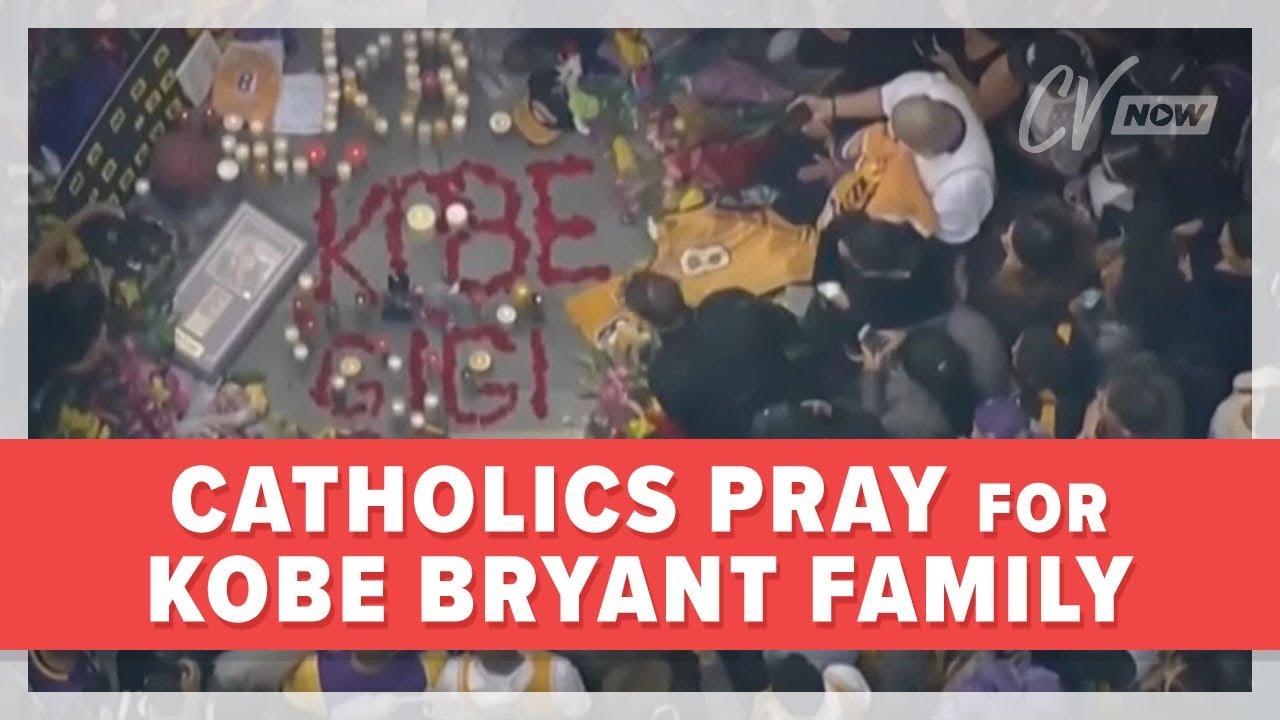 Catholics Pray for Kobe Bryant Family