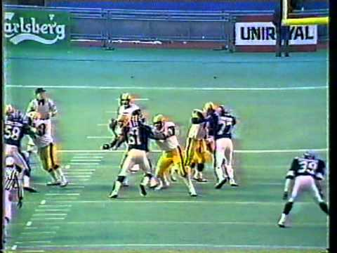 1983 CFL Eastern Final - Argos vs. Tiger-Cats, Part 14