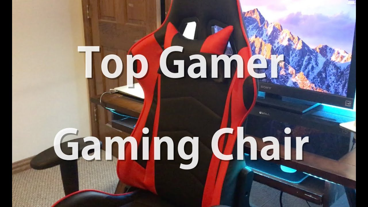 Budget Gaming Chair Top Gamer Gaming Chair Review Youtube