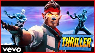 """THRILLER"" CANZONE OF FORTNITE Royal Battle Michael Jackson Thriller Fortnite"