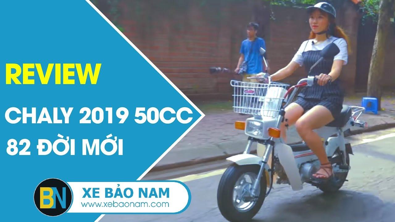 Chaly 2019 50cc đèn vuông 82 đời mới ► Xe máy Chaly bán mới tại cửa hàng Xe Bảo Nam