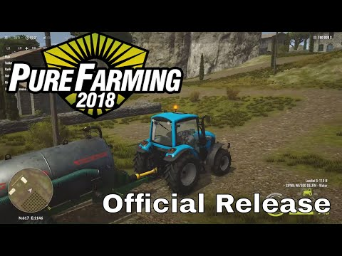 Pure Farming 2018 - Full Game - First Look at the Official Release