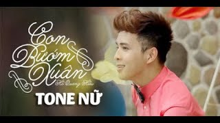 Karaoke Con Bướm Xuân Remix - Tone Nữ Hồ Quang Hiếu l Beat Chuẩn Nhạc Sống TNK