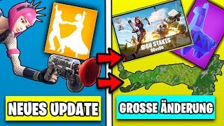 Neues MEGA Update 😱 Patch Notes, High Stakes, neue Skins | Fortnite Season 5 Deutsch German