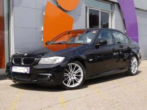2010 bmw 320d m sport business edition 184 saloon black for sale in hampshire youtube. Black Bedroom Furniture Sets. Home Design Ideas