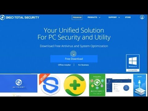 360 Total Security Free Antivirus Installation For Pc || No. 1 Free Antivirus || 2018