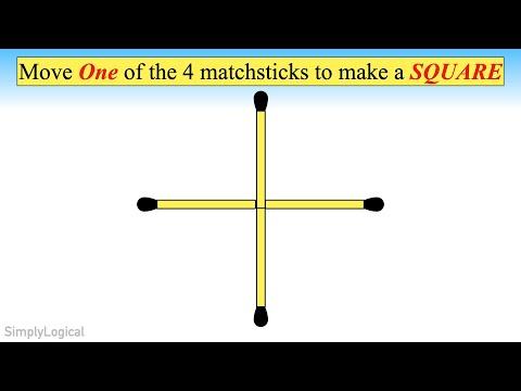 4 Matchstick Problem