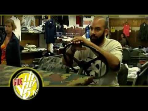 Youtube: MASTA PI freestyle pour Give Me 5 prod.(Inedit dvd 2009)