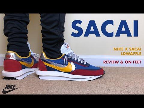 Nike Sacai LD Waffle Blue Multi Review