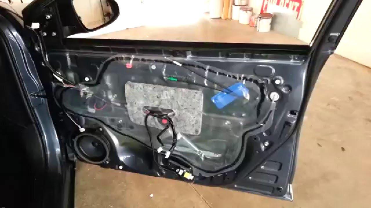 2014-2018 Toyota Corolla - Metal Door Frame - Plastic Door Panel Removed To Upgrade Speaker & 2014-2018 Toyota Corolla - Metal Door Frame - Plastic Door Panel ...