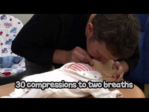 What to do if your baby stops breathing resuscitation video
