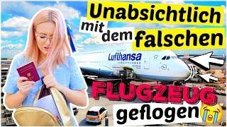 Wir sind unabsichtlich mit dem falschen Flugzeug geflogen 😭 | ViktoriaSarina