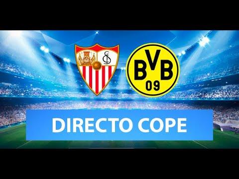 (SOLO AUDIO) Directo del Sevilla 2-3 Borussia Dortmund en Tiempo de Juego COPE